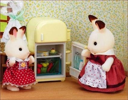 シルバニアファミリーの人形,シルバニアファミリー,おもちゃ,