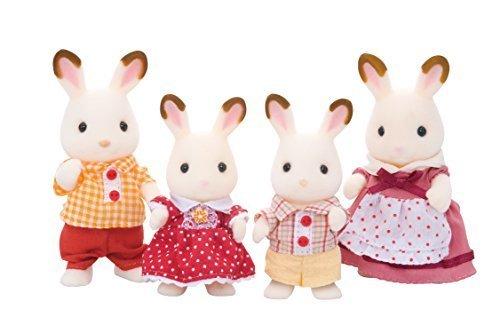 シルバニアファミリー 人形 ショコラウサギファミリー FS-16,シルバニアファミリー,おもちゃ,