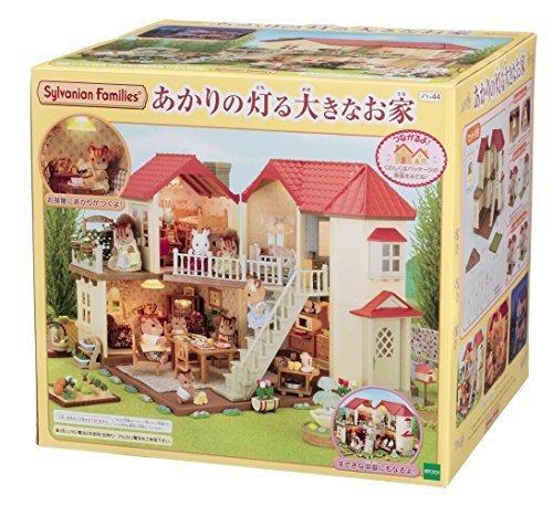 シルバニアファミリー お家 あかりの灯る大きなお家 ハ-44,シルバニアファミリー,おもちゃ,