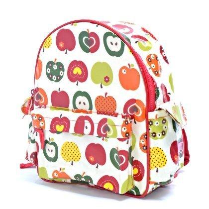 いつも一緒のmy通園リュック おしゃれリンゴのひみつ(アイボリー) 日本製 N0618000,幼児,リュック,
