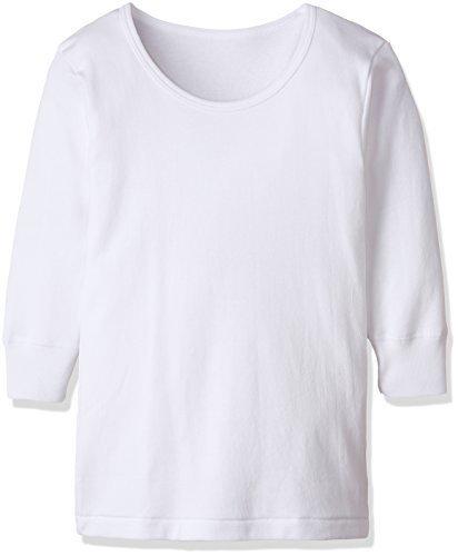[グンゼ] インナーシャツ あったか厚地 部屋干し・抗菌防臭 綿100% 長袖丸首2枚組 BF23B ボーイズ ホワイト 日本150 (日本サイズ150相当),子ども,肌着,おすすめ