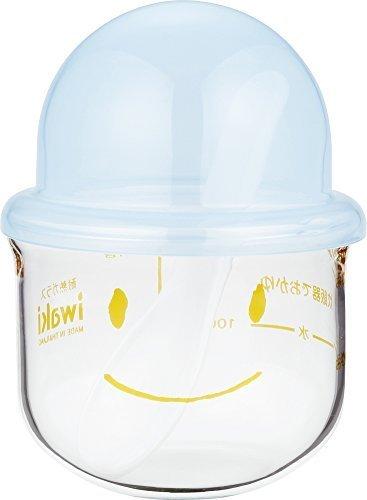 iwaki 離乳食調理器 おかゆこがま 耐熱ガラス 200ml KMC202-BL 064303,離乳食,ミルク,