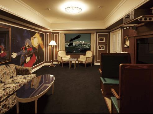 銀河鉄道999room,グランパシフィック LE DAIBA,コンセプトルーム,お台場