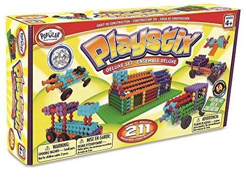 ポピュラープレイシングス (POPULAR PLAYTHINGS) プレイ・スティックス メイク・マイ・シティ PPT90001,4歳,男の子,プレゼント