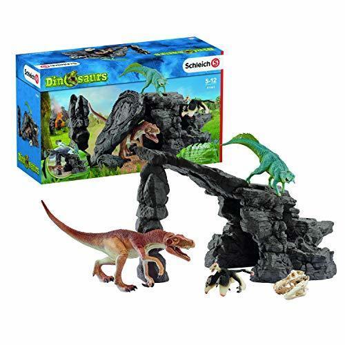 シュライヒ 恐竜 恐竜たちの洞窟プレイセット フィギュア 41461,4歳,男の子,プレゼント