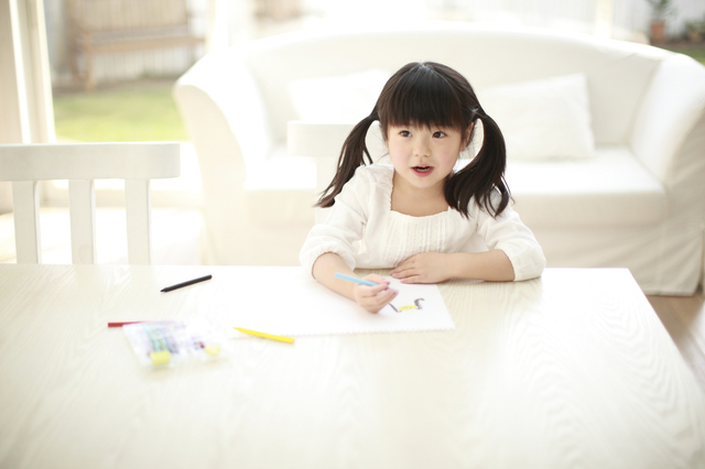 お絵かき,4歳,誕生日プレゼント,