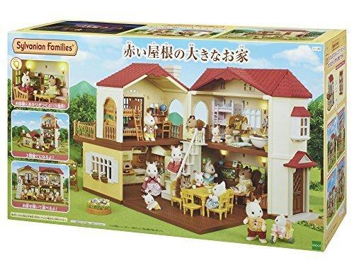 シルバニアファミリー お家 赤い屋根の大きなお家 ハ-48,4歳,誕生日プレゼント,