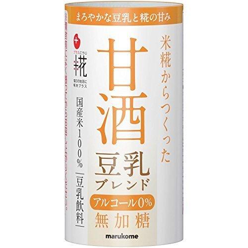 マルコメ プラス糀 甘酒 豆乳ブレンド 125ml×18本,離乳食,豆乳,