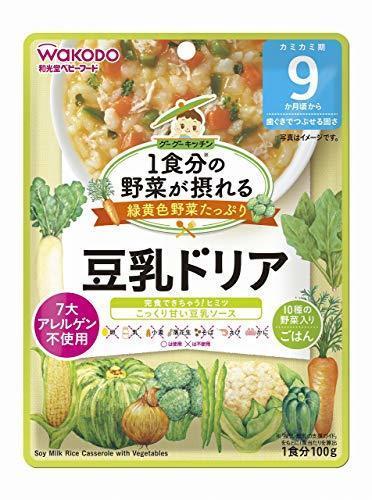 1食分の野菜が摂れるグーグーキッチン 豆乳ドリア×6袋,離乳食,豆乳,