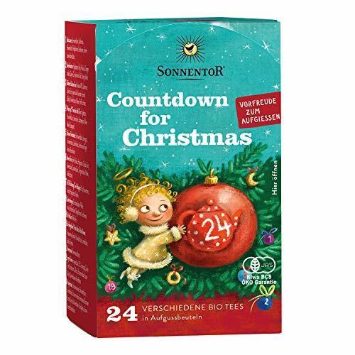 ゾネントア クリスマスカウントダウンのお茶 24袋,クリスマス,アドベントカレンダー,