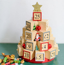 ツリー型アドベントカレンダー,クリスマス,アドベントカレンダー,