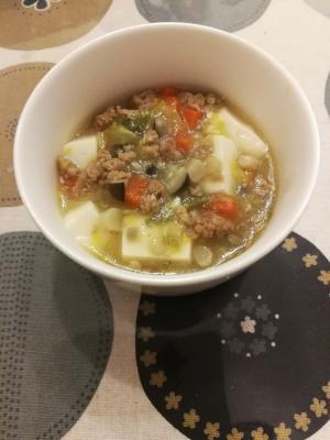 【離乳食後期】野菜たっぷり♪煮る麻婆豆腐,離乳食,豚肉,