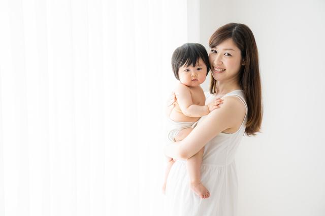 ママと赤ちゃん,おむつポーチ,