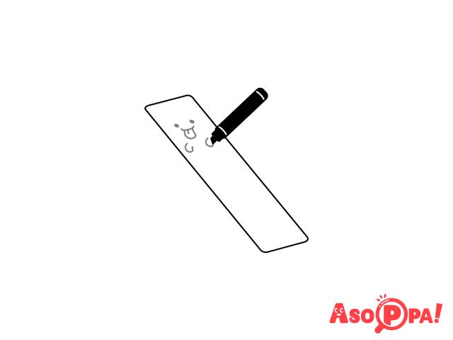 作り方(5)おばけを書く,牛乳パック,工作,簡単