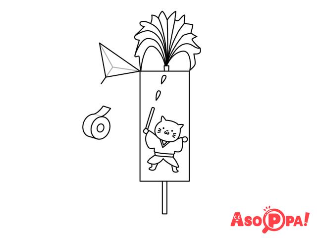 作り方(8)絵柄を書いてより楽しく,牛乳パック,工作,簡単