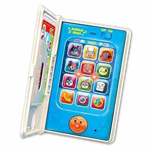 アンパンマン もしもしするとおへんじくるよ アンパンマン手帳型スマートフォン,おもちゃ,スマホ,