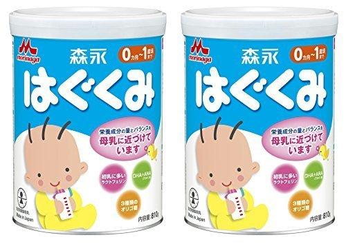 【Amazon.co.jp限定】 森永 はぐくみ 大缶 810g×2缶パック,ランキング,粉ミルク,完全ミルク