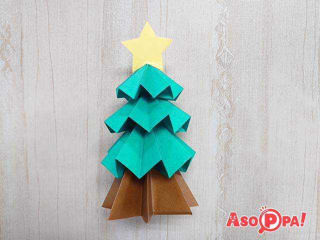 クリスマスツリー,クリスマス,折り紙,