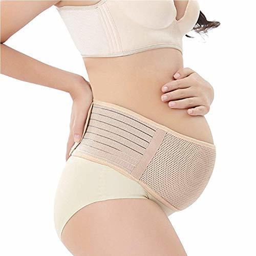 妊婦帯 産前産後マタニティベルト 腹帯としてダブルベルト 骨盤 恥骨や腰の負担をしっかりサポート (ヌード色),腹帯,妊婦,人気