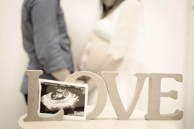 エコー写真 30週4日 30w4d 女の子,妊娠,30週,エコー写真