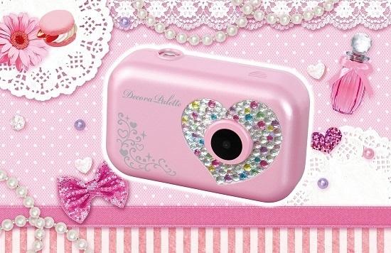 デコラパレットふんわりキュート,カメラ,子ども,写真