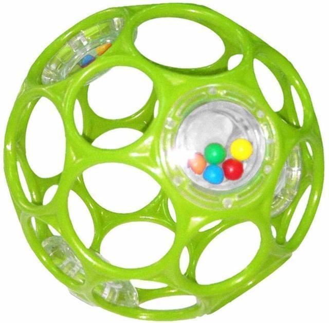 O'ball オーボール ラトル ライム ,知育玩具,1歳,