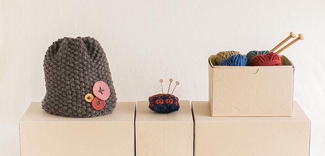 イトコバコキット,キット,初心者,手編み