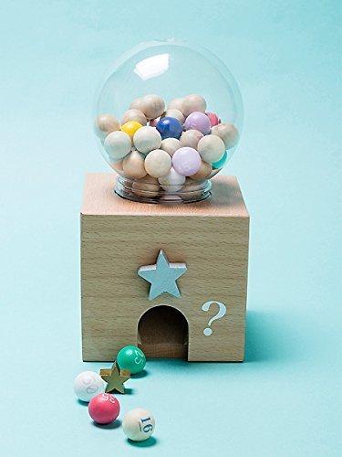 ガチャガチャビンゴ,木製,おもちゃ,人気