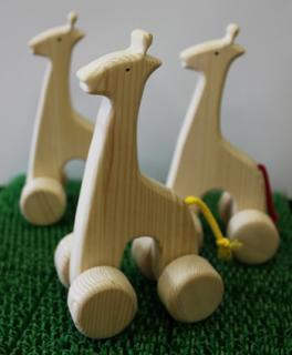 アニマルカーきりんさん,木製,おもちゃ,人気