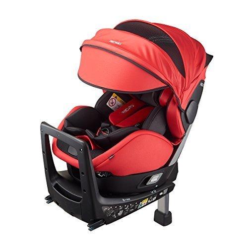 Recaro ISOFIX固定 ゼロワン セレクト R129 スパーキーレッド RK6305.21850.07 0か月~ (1年保証),チャイルドシート,新生児,