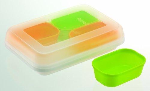 リッチェル わけわけフリージングカップ 1カップ容量/50ml カップ4コ入,離乳食,冷凍,容器