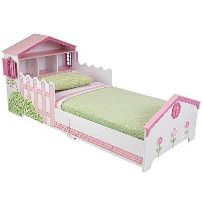 ドールハウスのベッド,可愛いベッド,子ども,キャラクターベッド