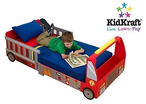 消防車のベッド,可愛いベッド,子ども,キャラクターベッド