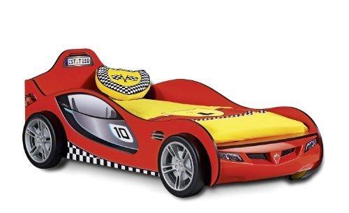 レーシングカーのベッド,可愛いベッド,子ども,キャラクターベッド
