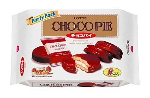 ロッテ チョコパイパーティーパック 1袋(9個入り),お菓子,甘い,