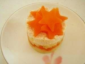 離乳食初期~OK!おかずになるケーキ,離乳食 ,初期,豆腐