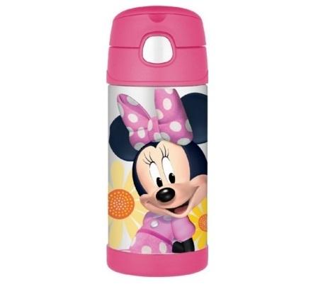 かわいいミニーマウスの携帯マグ,子ども,水筒,おすすめ