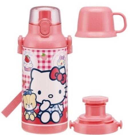 2WAYのハローキティ保冷水筒,子ども,水筒,おすすめ