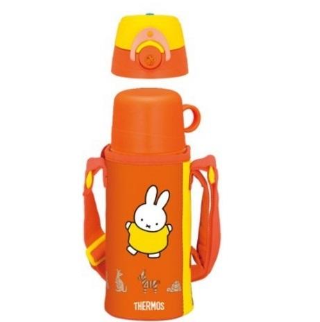 サーモスの2WAYボトル(ミッフィー),子ども,水筒,おすすめ
