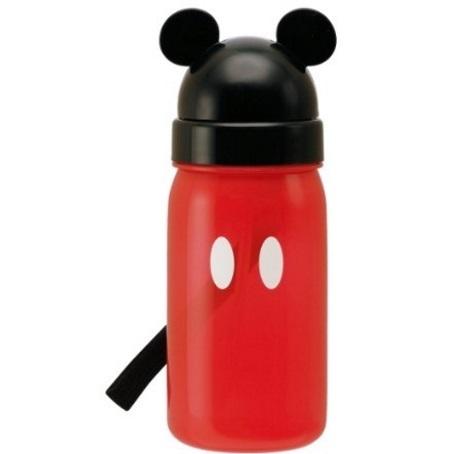 ミッキーのストロー式水筒,子ども,水筒,おすすめ