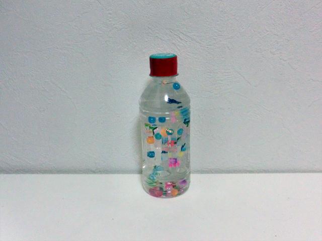 フローティングボトル 作り方 手作り,赤ちゃん,おもちゃ,作り方