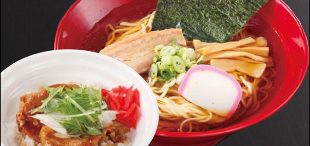 らーめん&ネギ豚丼(小)セット,浦安,個室,子連れランチ