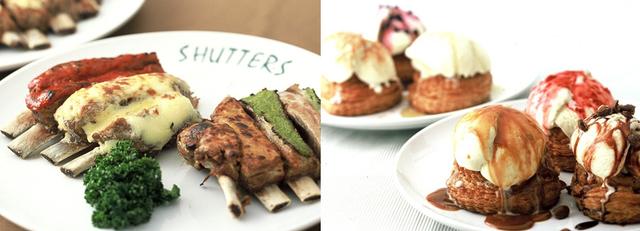 「SHUTTERS」の料理,NHKホール,ランチ,子連れ