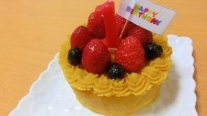 1歳のバースデーケーキ,1歳,誕生日ケーキ,