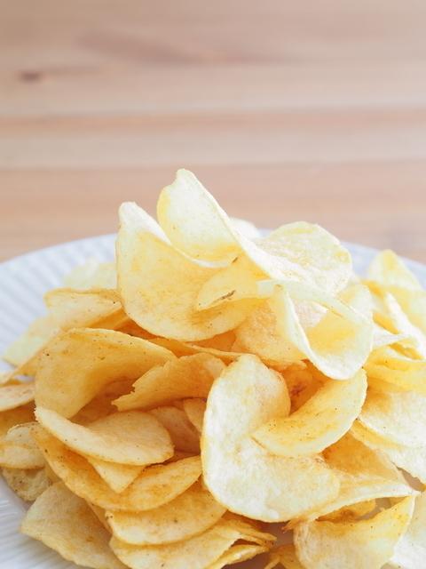 お皿に乗ったポテトチップス,清水寺,ランチ,子連れ