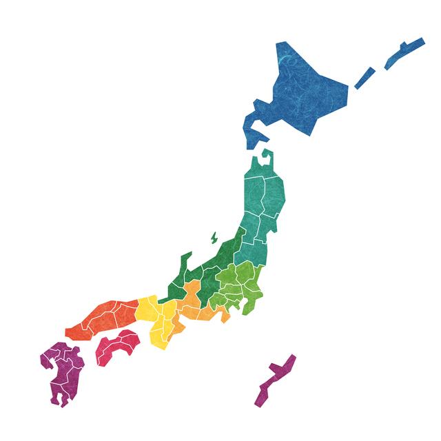 日本地図,陣痛タクシー,