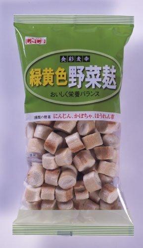 しきしま 食彩 緑黄色野菜麸35g×12袋分(お麸で健康貯金!簡単レシピ付),離乳食,麩,