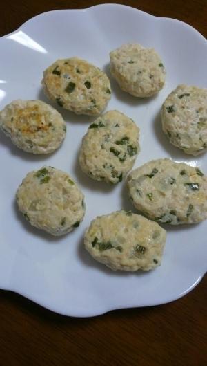 【離乳食後期】簡単!豆腐ハンバーグ,離乳食,豆腐ハンバーグ,