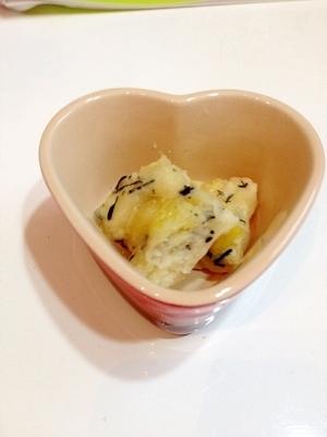 さつまいもとひじきとバナナの蒸しパン★離乳食,離乳食,ひじき,