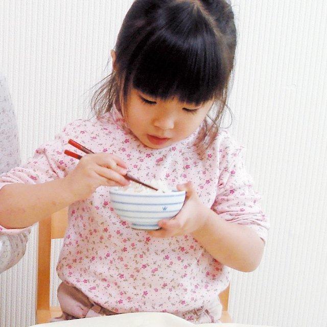 しましまわんを使う子ども,子ども,食器,おすすめ